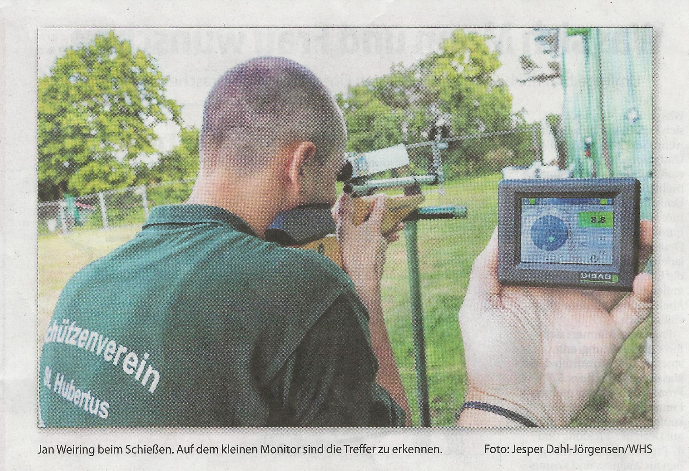 Lichtgewehr gespendet Wochenblatt
