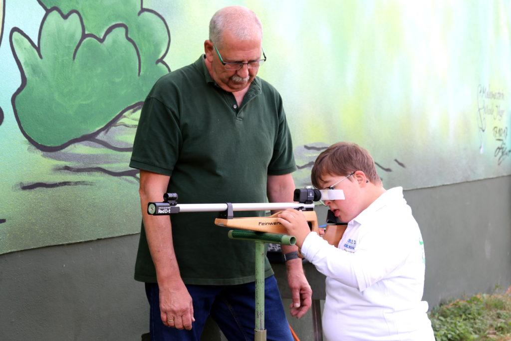 Training mit dem Lichtgewehr