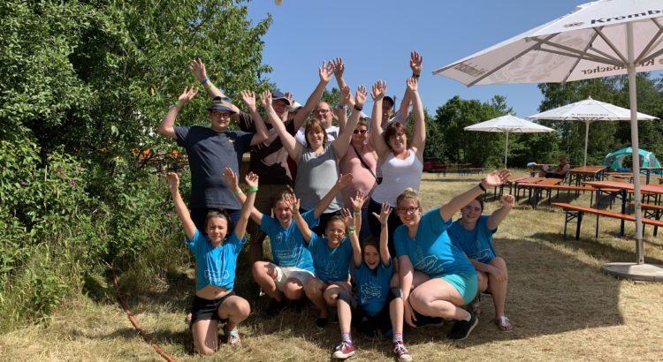Die Camp-Teilnehmer genossen das Wochenende